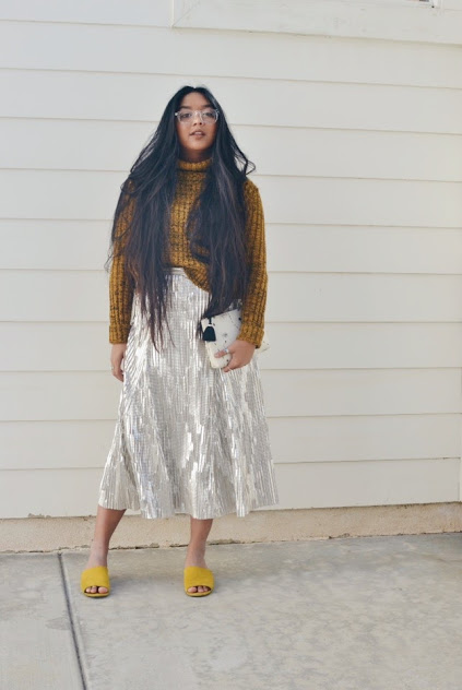 My favorite skirt to ever exist: the Anthropologie Eclat Midi Skirt by Maeve.