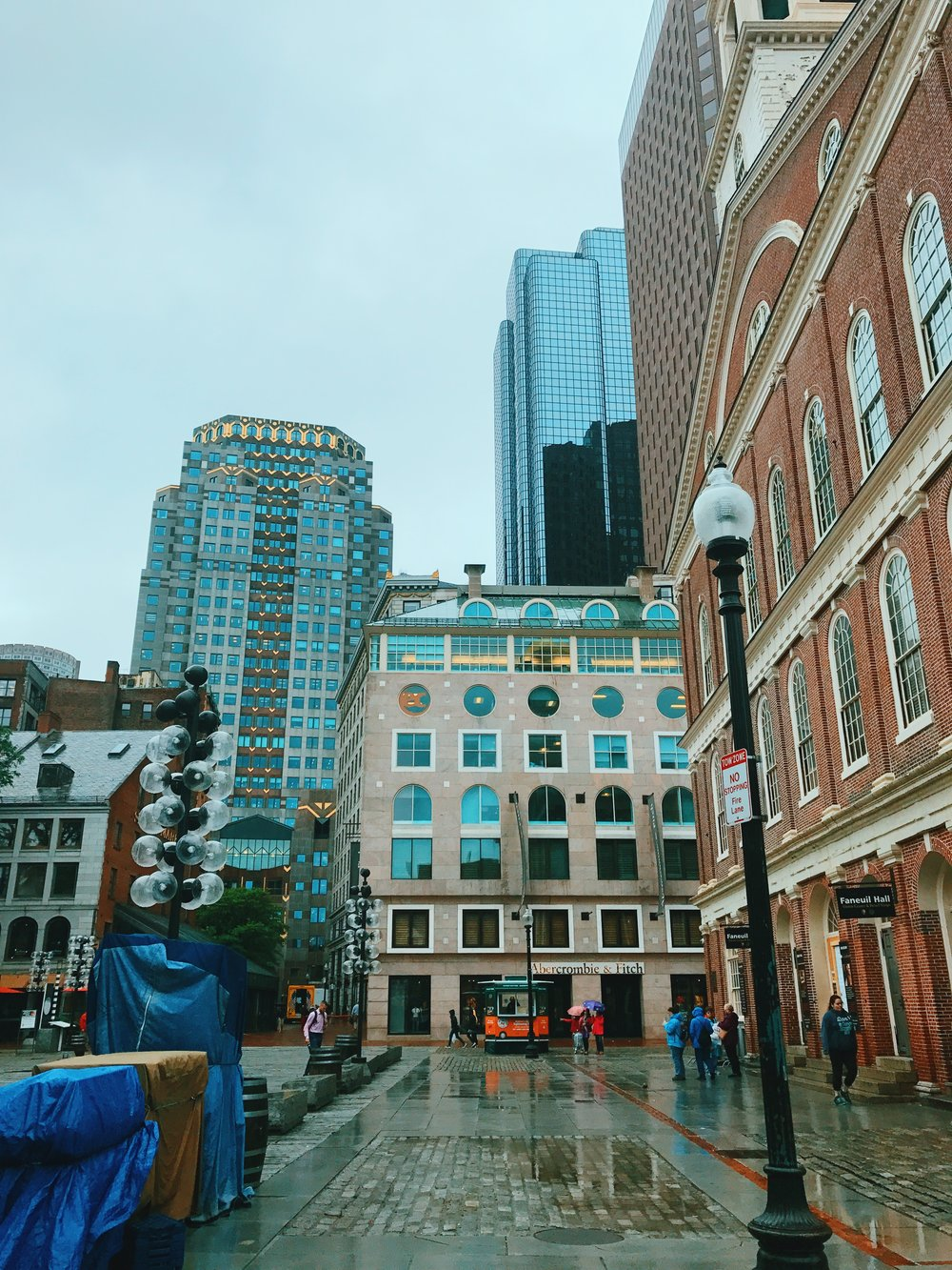 Quincy Market/Faneuil Hall