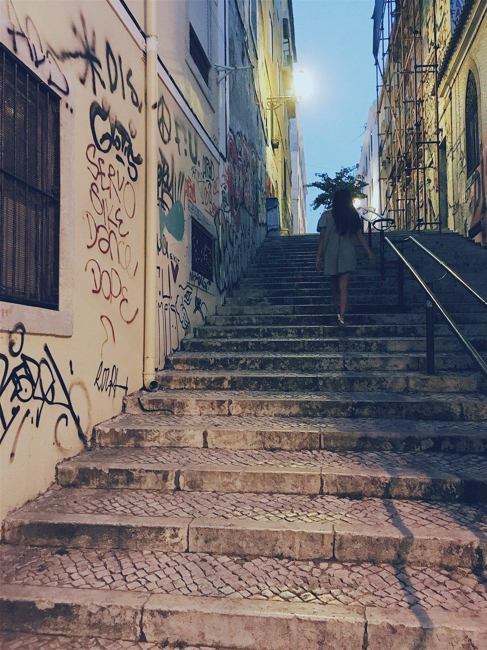Graffiti and street art everywhere