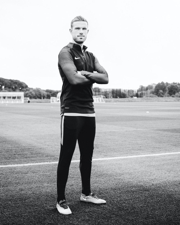 Jordan Henderson x Nike for SoccerBible Magazine