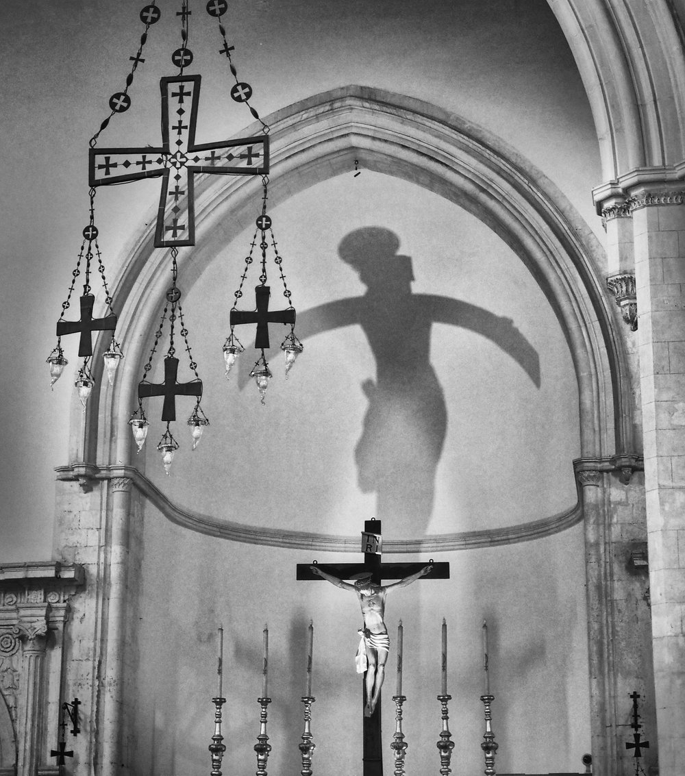 The Shadow of Christ Crucified