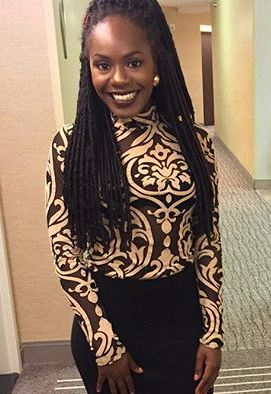"""Jizelle     """"the Millage did a great job consulting me with an outfit! Everyone, including myself, loved it!I had to dress for a classy black tie event, so I needed something formal. What they chose was perfect! What an amazing job and I will definitely be returning to them for more styling advise."""""""