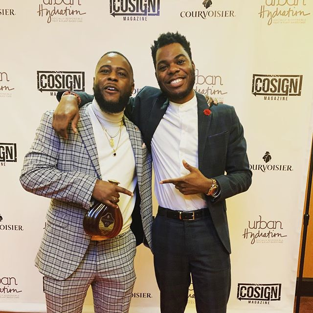 Another great event and another year of great style... -- Thanks for trusting me again @cosignkg and allowing me to style you for your @cosignmag awards this year. -- You and the Cosign team definitely showed out again and produced a beautiful event. -- I definitely look forward to the 3rd year and possibly being nominated for Stylist of the Year 👀.