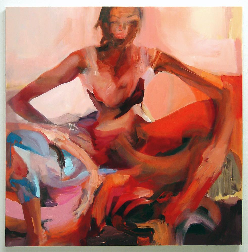 "Bugaboo  , 2006, oil on canvas, 54""x 54"""