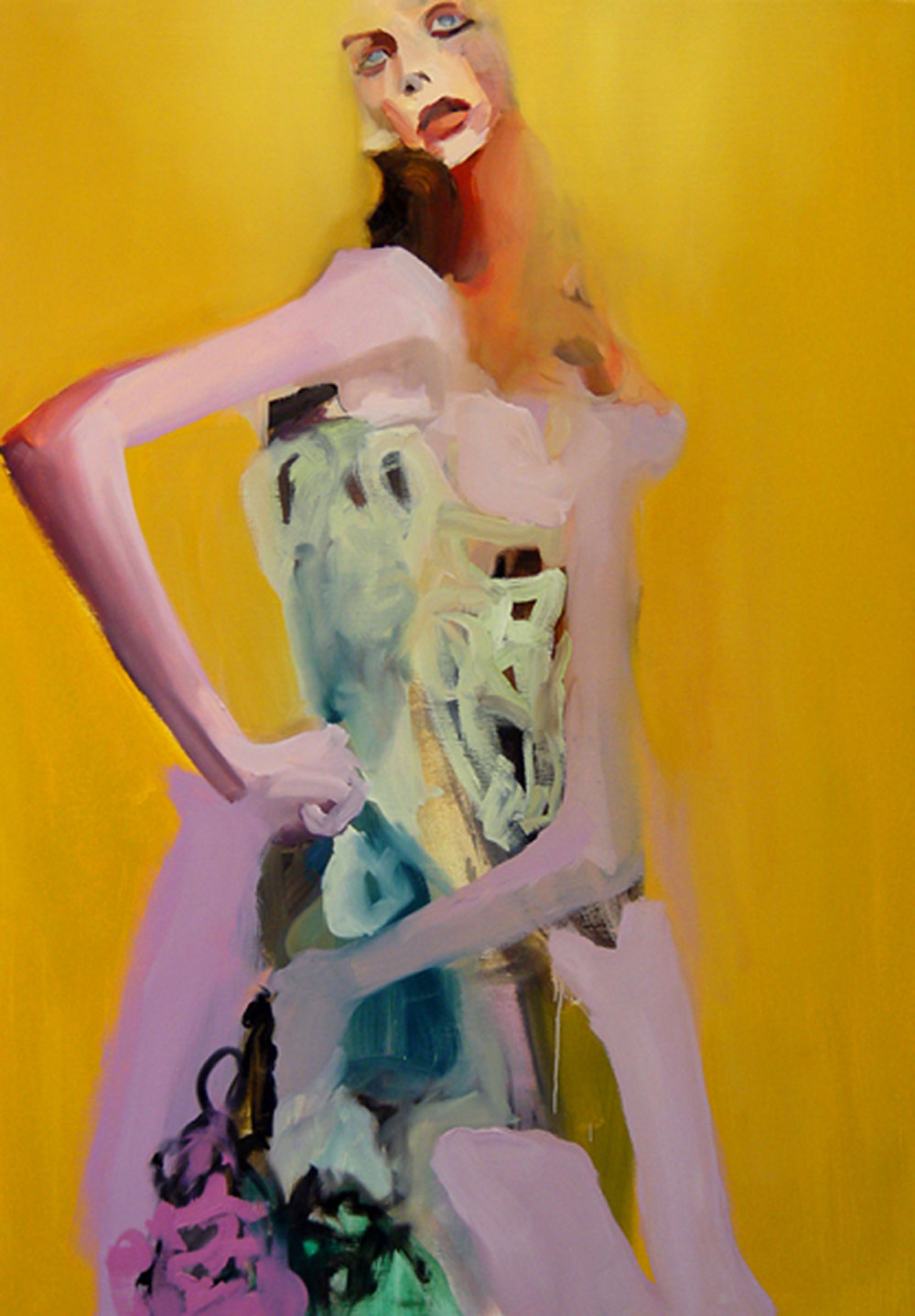"Seraphim , 2006, oil on canvas, 60""x 42"""