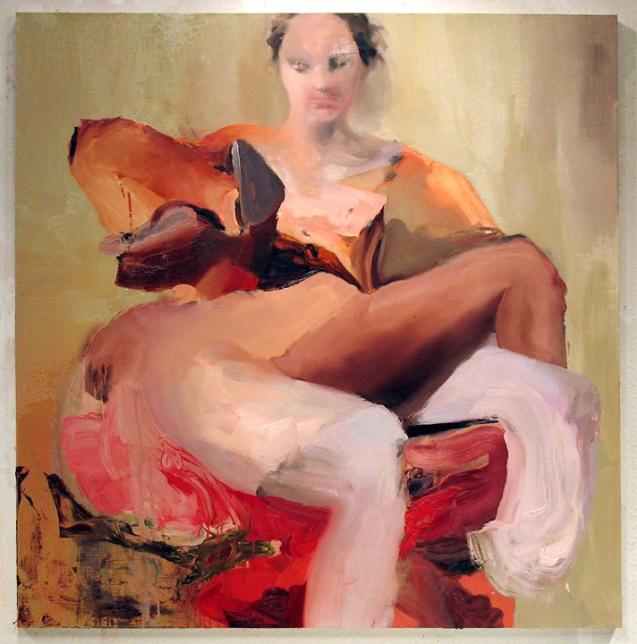 "Frivolity  , 2006, oil on canvas, 54""x 54"""