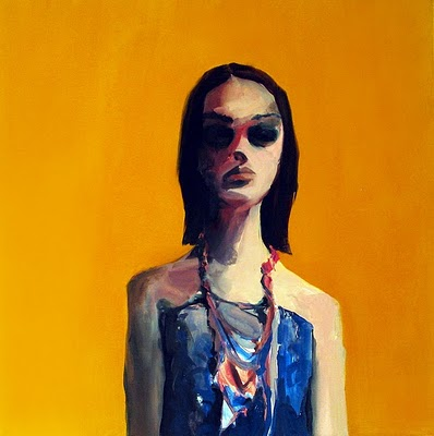 "Post-Op , 2010, oil on canvas, 38""x 38"""