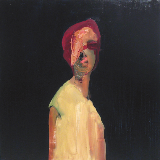 "untitled, 2008, oil on canvas,40""x 40"""
