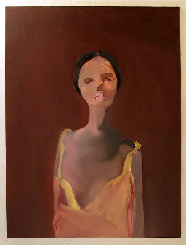 "E. Pontelier , 2006, oil on canvas, 48""x 36"""