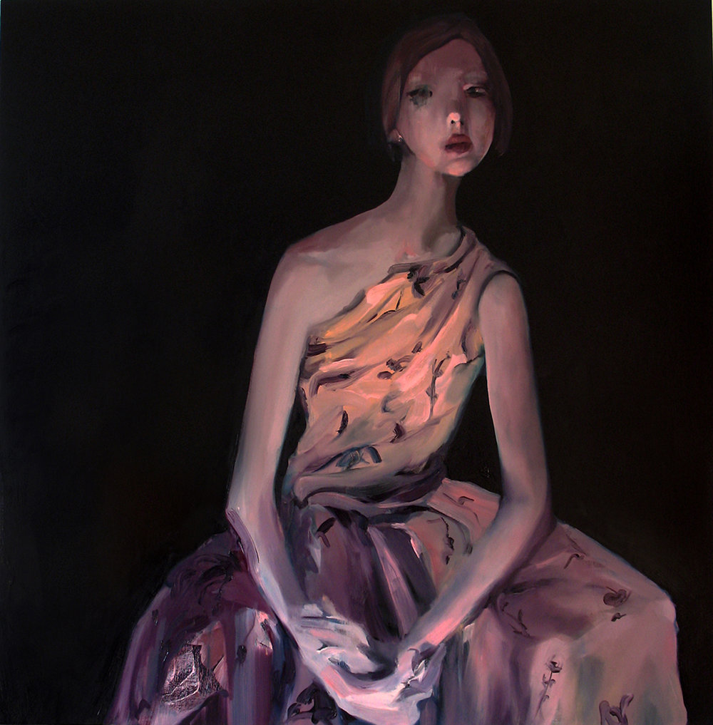 "Chantilly, 2011, oil on canvas, 50""x 50"""