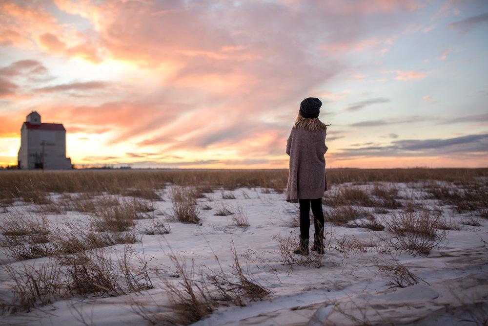 Saskatchewan Prairies Portrait
