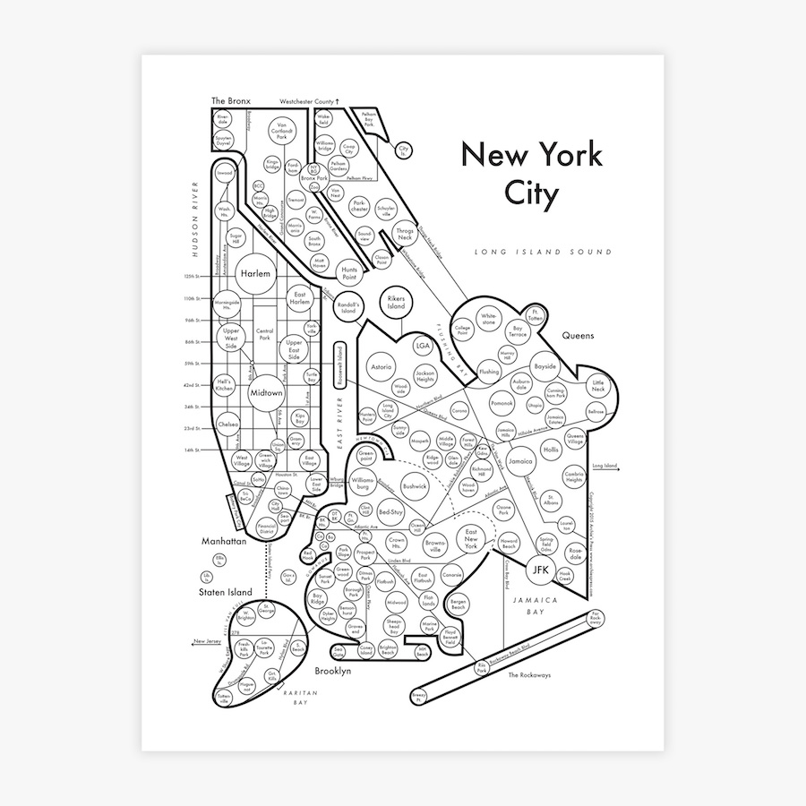 91 Coloring Book New York City