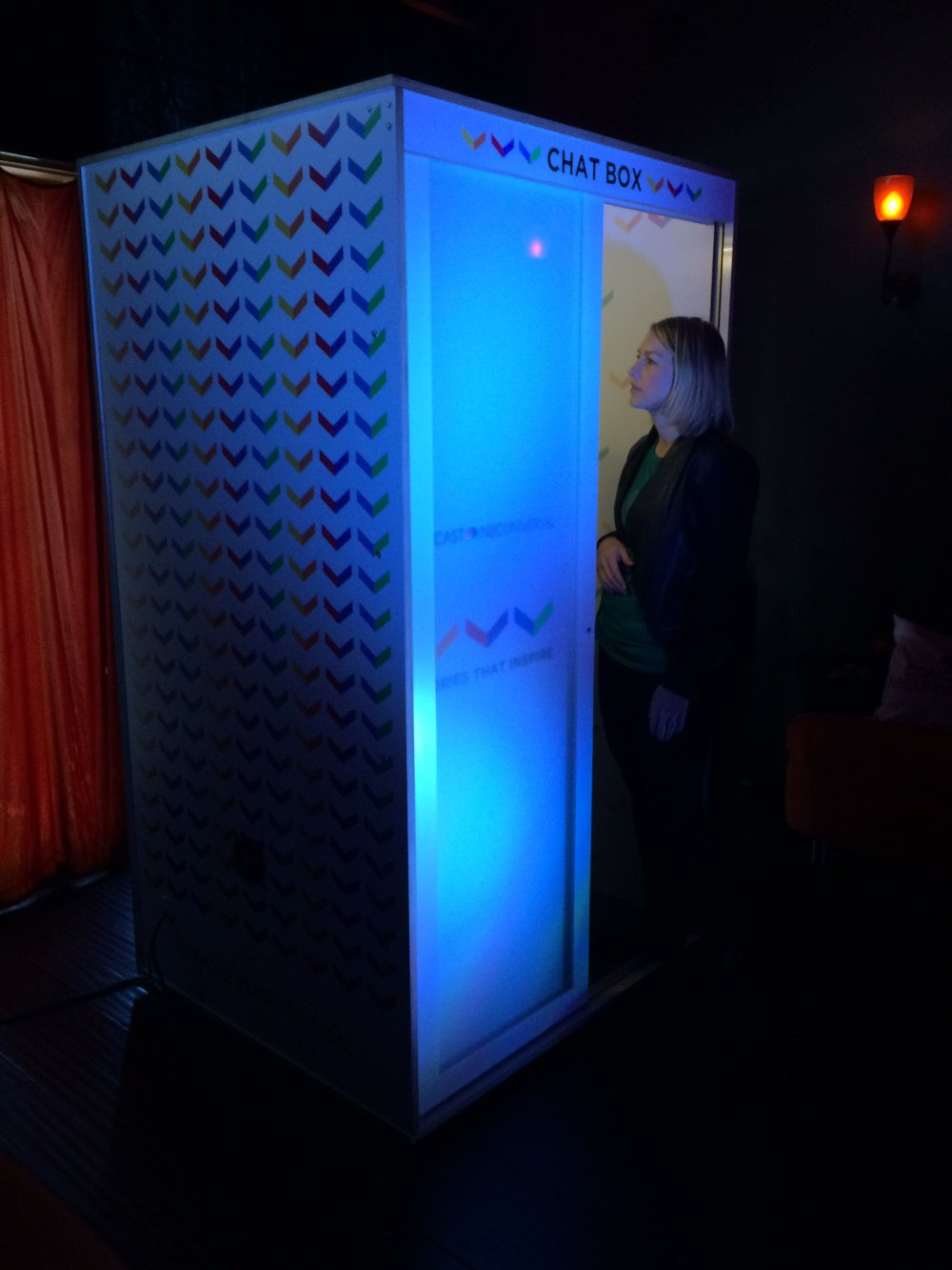 TalkBox Confessional For NBCU