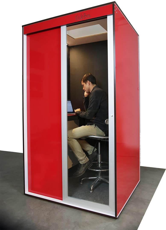 Elegant TalkBox Phone Booth