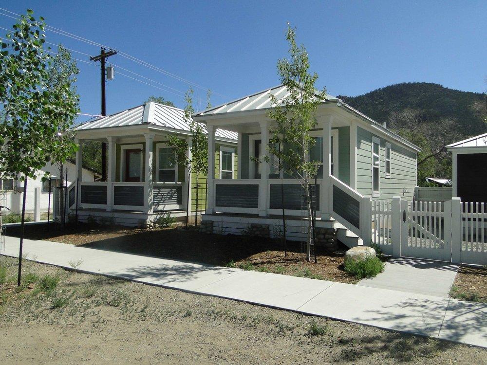 Katrina Cottages in Buena Vista, Colorado image courtesy of Kenny Craft.