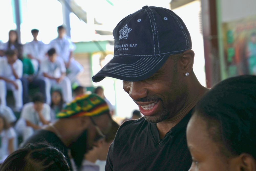 Today, NFL Champion Ray Crockett enjoys giving back to the community and inspiring young people to have discipline, determination, and dedication.