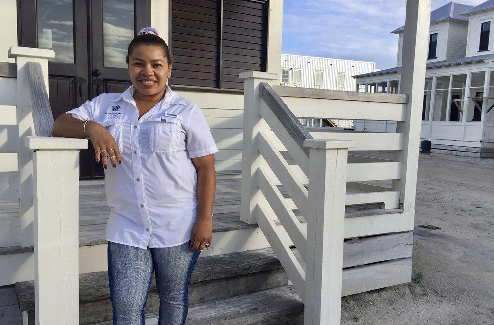 Ada Castellanos, Manager of Housekeeping & Maintenance at Mahogany Bay Village.