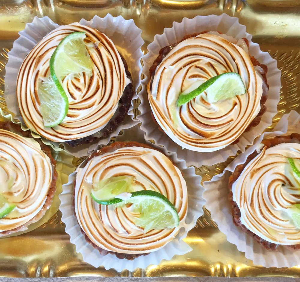 Key (Caye) Lime Pie from Market Day regular, Délices de France!
