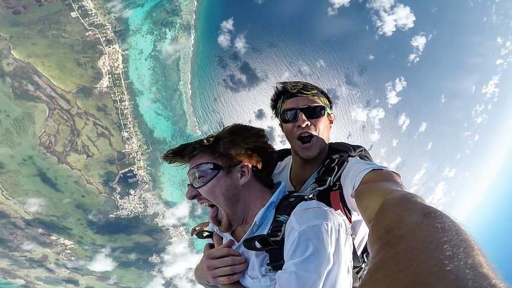 Photo captured by Skydive San Pedro.