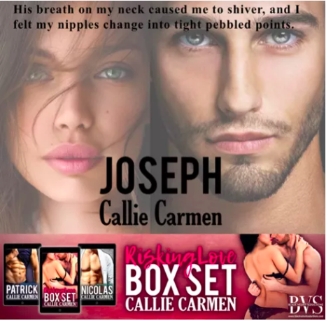 Book three of the Risking Love series Joseph & the woman that drives him crazy Violet.