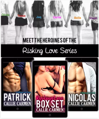 The six heroines of the Risking Love series.