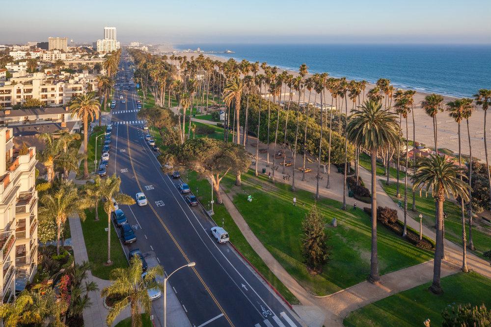 Buy property on Ocean Ave in Santa Monica