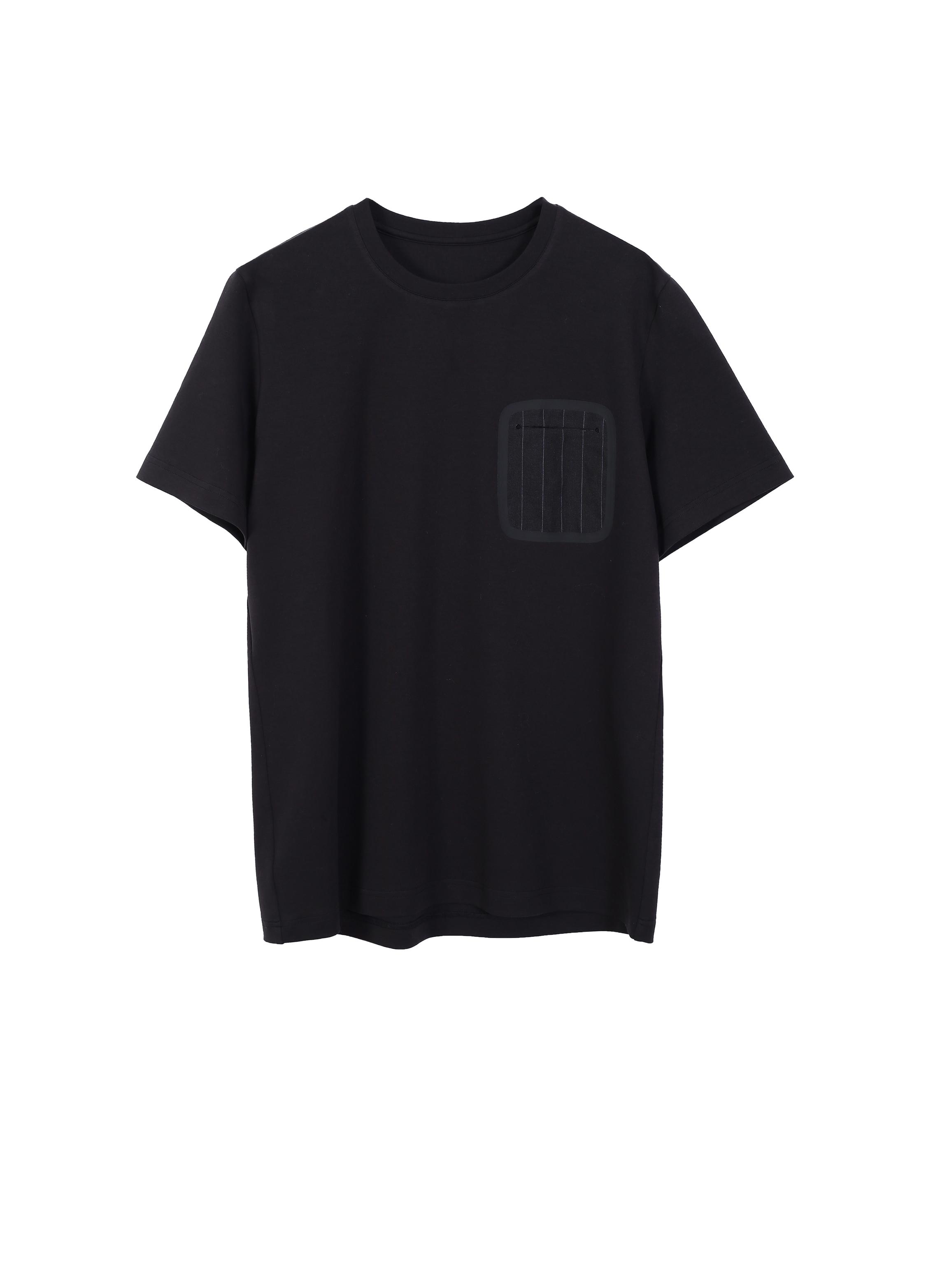 ea2f2e07a Decorative Front Pocket Cotton-Blend T-Shirt — JNBY