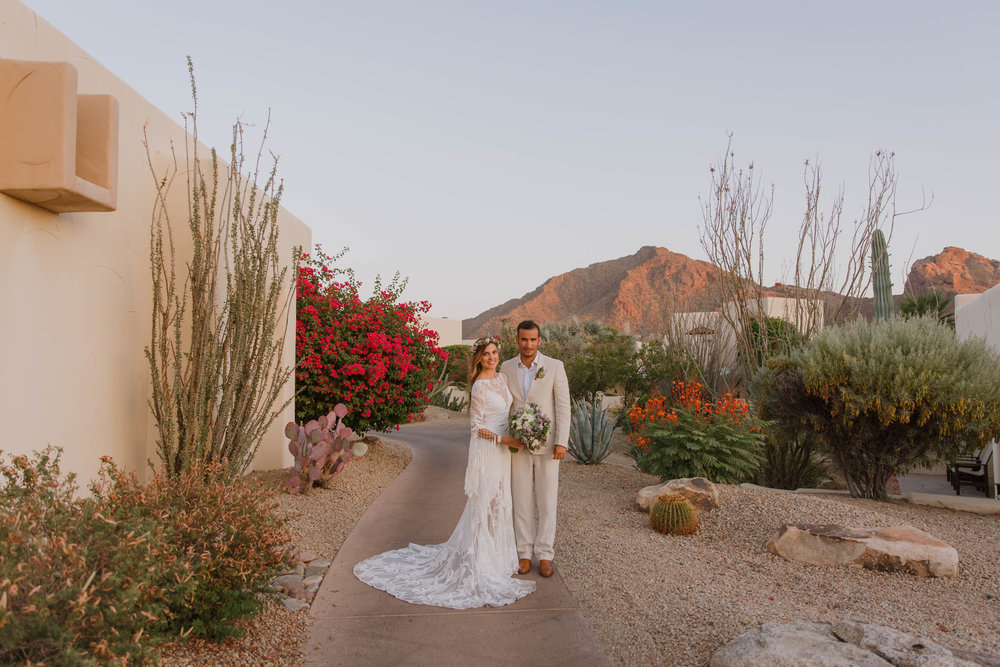 Arizona Boho Wedding