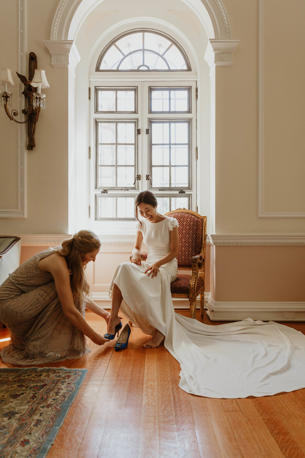 otto khan mansion wedding photographer elizabeth tsung photo
