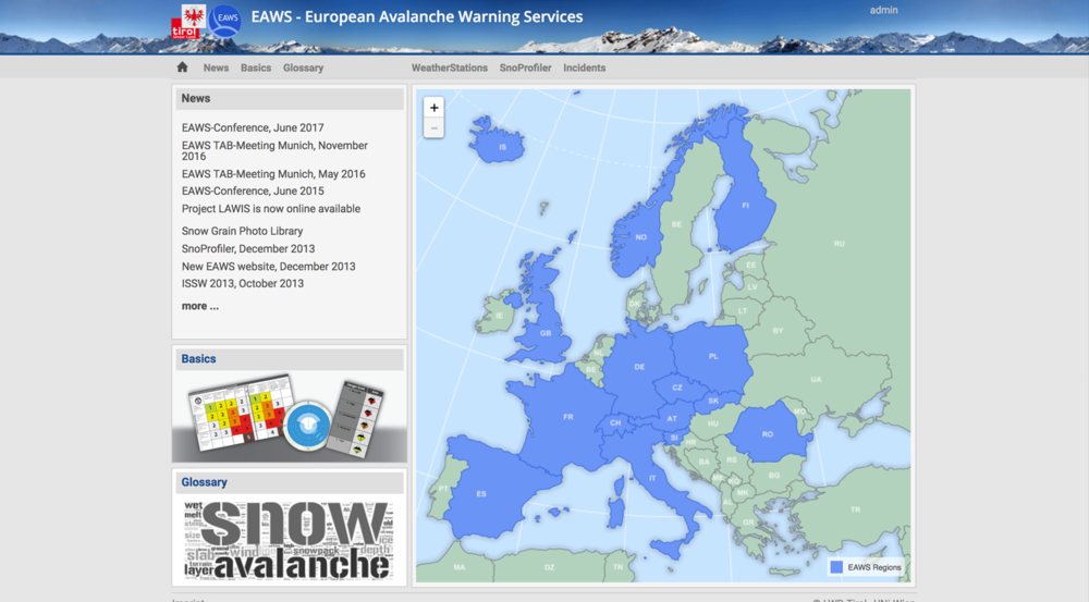 EUROPE — avalanches.org/eaws