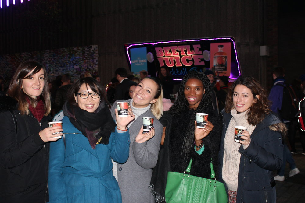 The Duppy Share cups going strong at their London event.