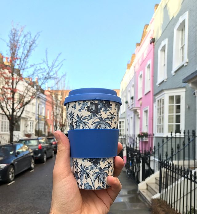 Liberty's reusable Bamboo cup design number 2. Exclusively @Liberty store this Christmas.