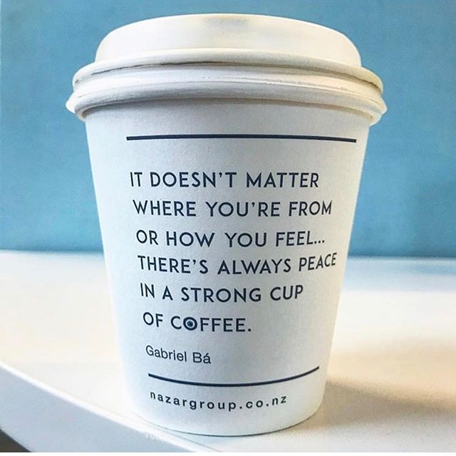 Quote of the day brought to you by your daily caffeine shot. #pma #positivementalattitude credits: @coffeecupsoftheworld @ferizaskitchen @coffeecupvibes