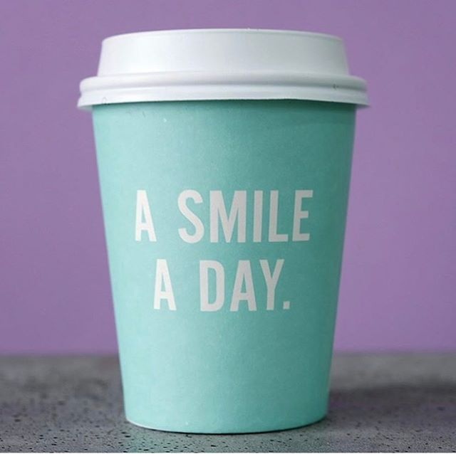 A smile a day...keeps [insert your worst nightmare] away. Keep smiling peeps! #smile credits: @coffeecupsoftheworld @thesmilenyc