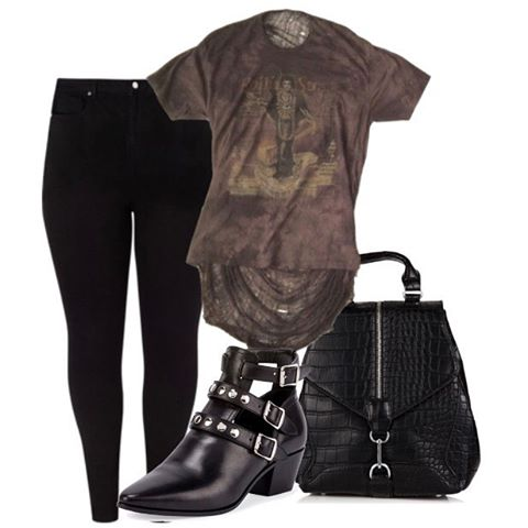 Channel your inner rocker with the Jimi tee, pair with skinnies, booties, and a simple but statement backpack for an everyday look.