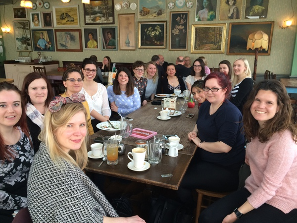 Taken at our first ever Brighton Girl meet up in March 2016