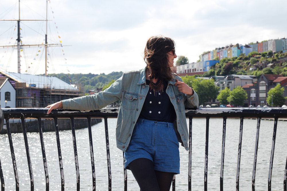 Taken by Isa Rowbotham during my visit to Bristol in June for the launch of Bristol Girl!