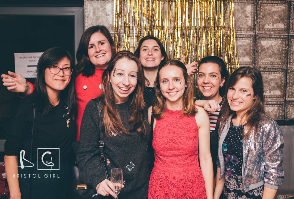 Taken at the Bristol Girl Christmas Party, by Sophie Carefull