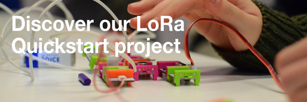 Discover the LoRa                                                                                              Quicktart project