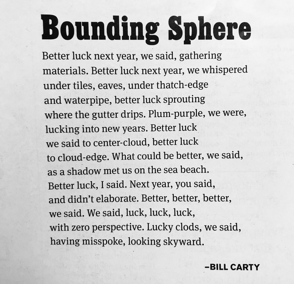 Post — Bill Carty