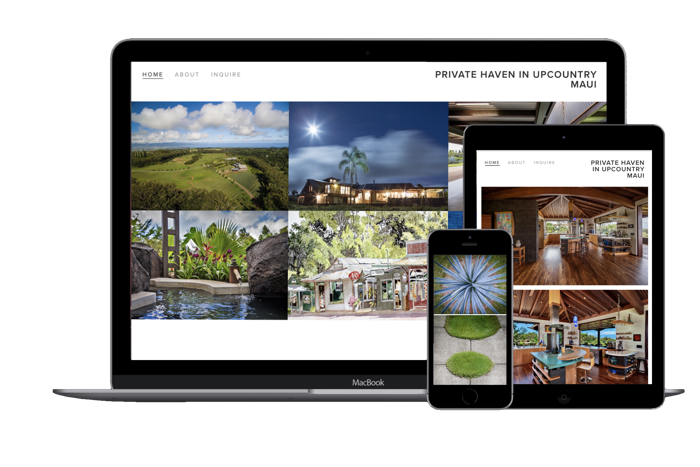 Real Estate - Marketing the sale of real estate has become a digital game. A beautiful Real Estate website showcases your property, provides contact information, and can be shared around to help find your buyers.