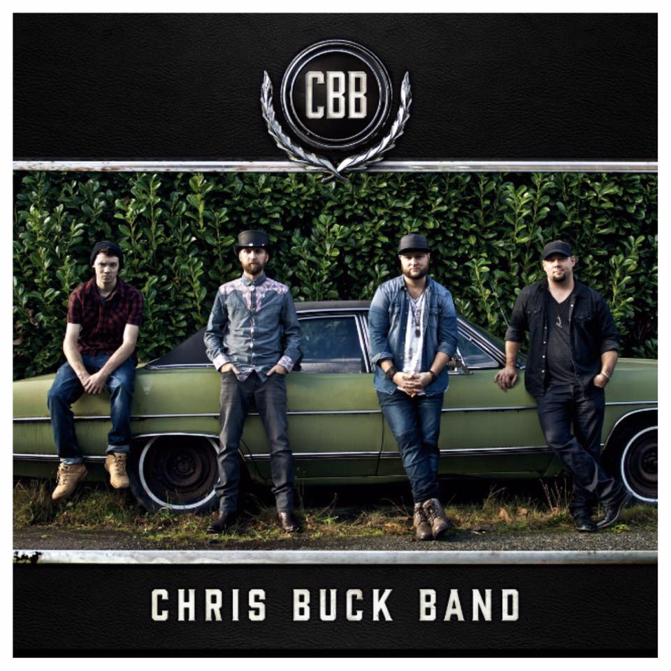 Chris Buck Band  SELF-TITLED ALBUM  Mastered by Mike Cervantes