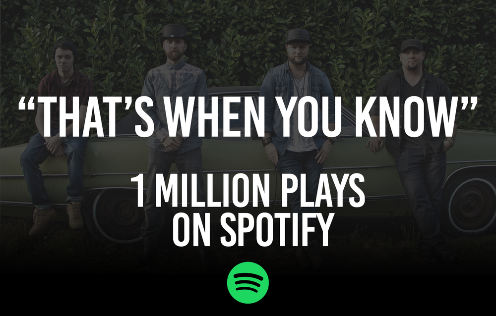 Chris Buck band Spotify milestone.png
