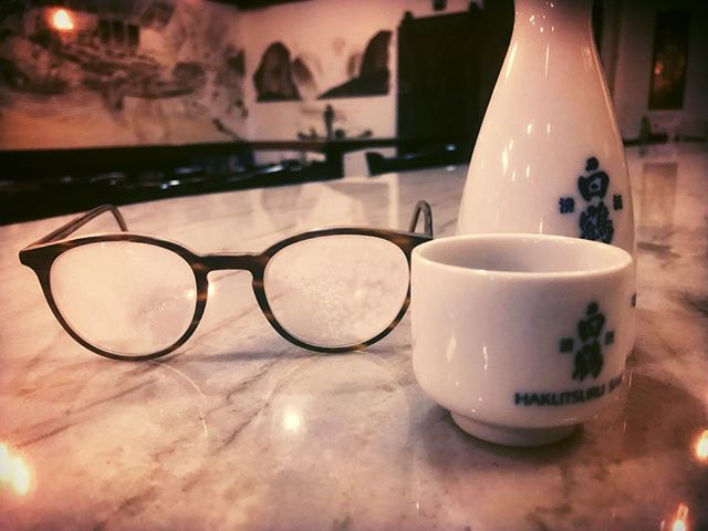 These frozen glasses are an indication of how cold it is outside - WARM UP with some HOT SAKE with us!@makitabar @hakutsuru_official #hakutsuru #hotsake #warmupwithus #makitabar #613drinks #yowlife #yow #yowwinter #fridaynights #firdaynightsout @jamesmcbro
