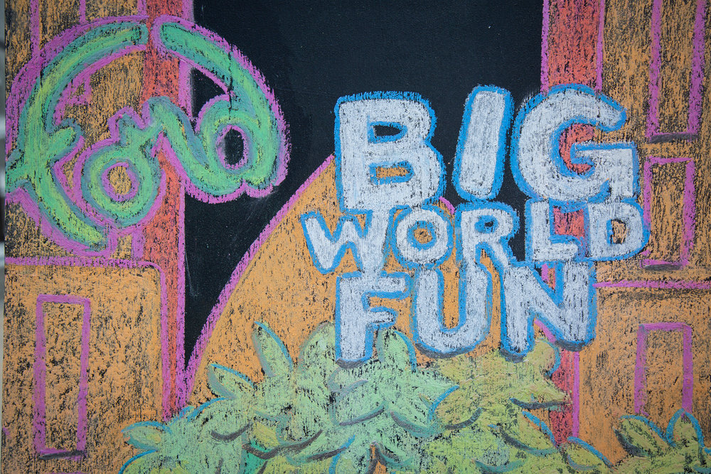 Big World Fun is a family concert series at the Ford Theatres in Hollywood.