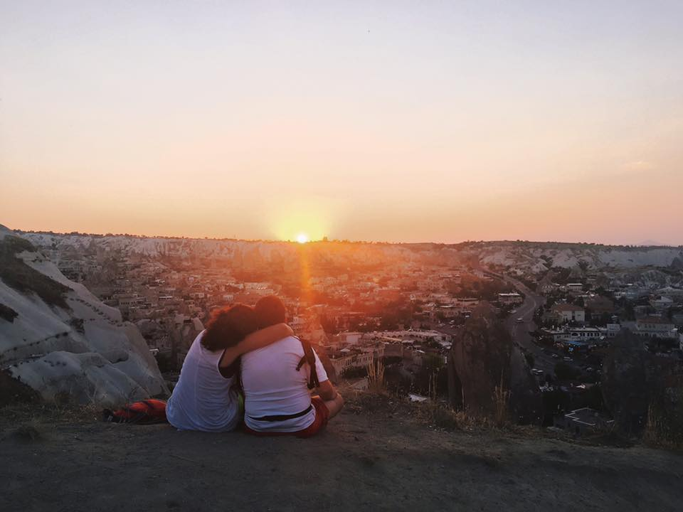 Love is in the air @ Cappadocia, Turkey