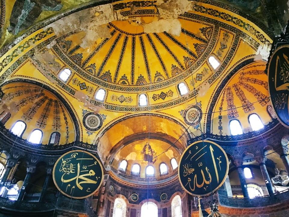 Hagia Sofia - Islamic elements in a Christian church