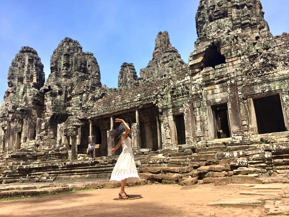 Sufi whirling @ Angkor Wat