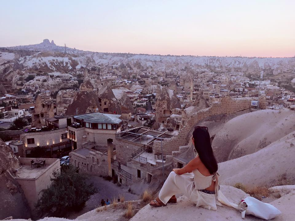 photo taken in Cappadocia, Turkey