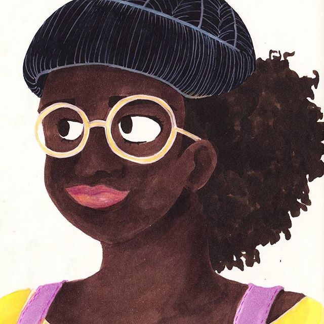 Golden glasses. . . . . . . . . . #illustration #copic #illustrator #illustratorsoninstagram #sketchbook #leuchtturm1917 #sketchoftheday #drawing #glasses #pastel #illustrationoftheday #doodles #illustratorsofinstagram #drawings #artistsoninstagram #sketchoftheday #artistsofinstagram  #illustrations #instaillustration #instagood #instaartist #sketch #drawings #muji #copicmarkers #doodle #dailydrawing #melanin #painting #sketch